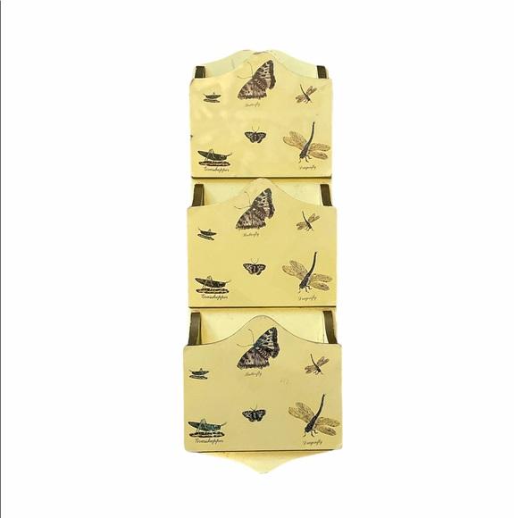 Vintage Butterfly Wall Letter Sorter